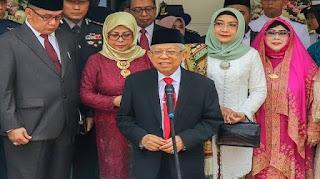 Wacana Hari Kerja PNS, Begini Tanggapan Wakil Presiden KH Ma'ruf Amin