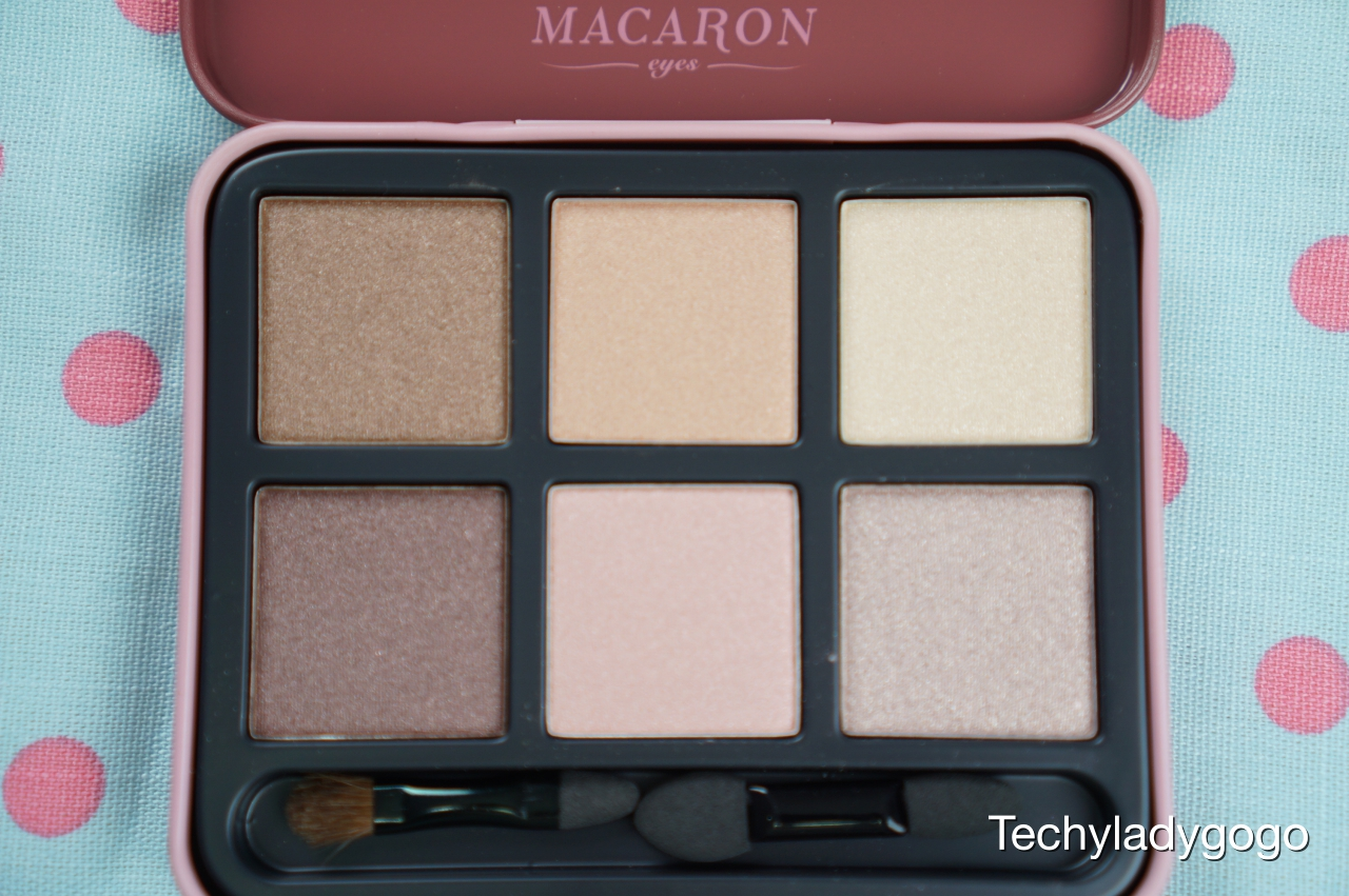 1028 Visual Therapy Macaron Eyeshadow Kit รีวิวอายแชโดว์