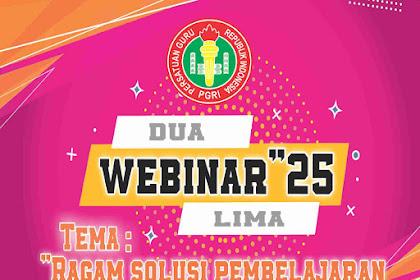Undangan Pelatihan IT'25 PGRI Gelombang 1 Angkatan 1, 2, dan 3 PGRI Kabupaten Lumajang 2021