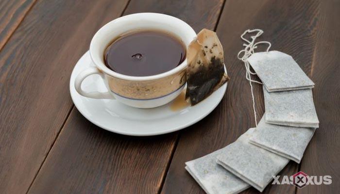 Cara menghilangkan bekas cupang dengan teh celup