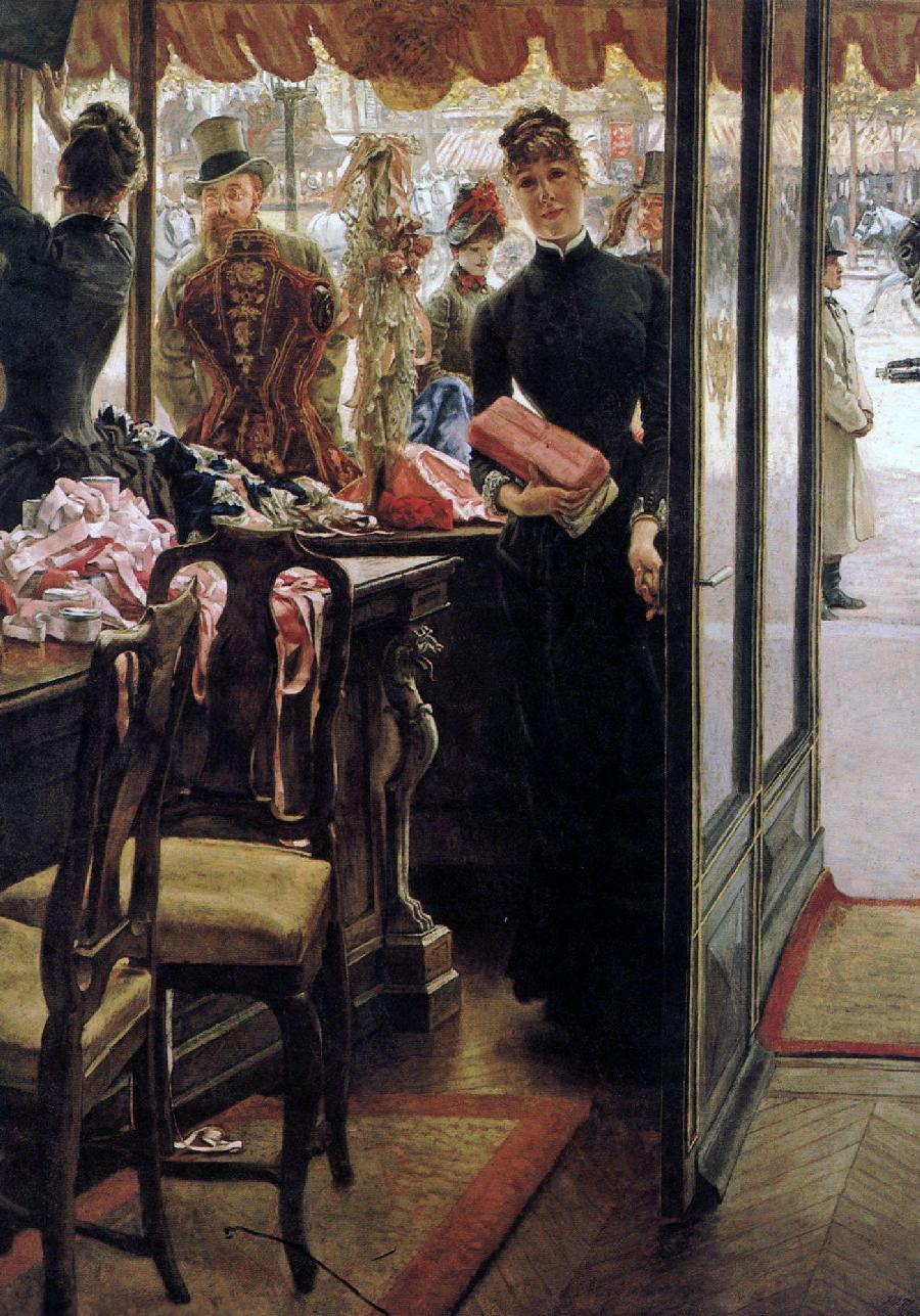 James Jacques Joseph Tissot ( 1836-1902)