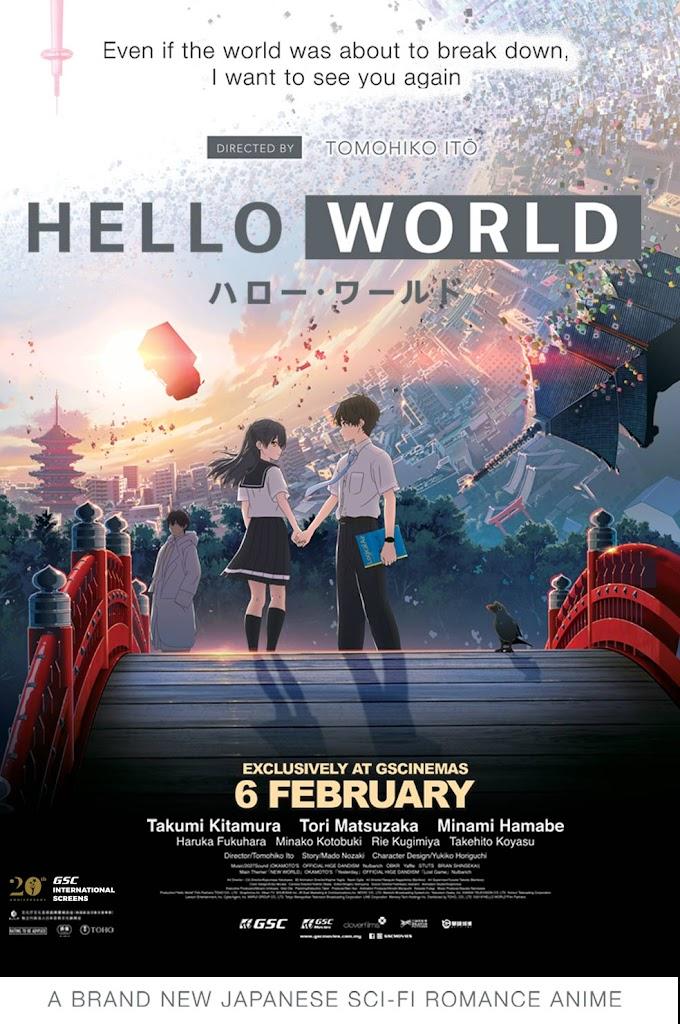 Review Filem Hello World