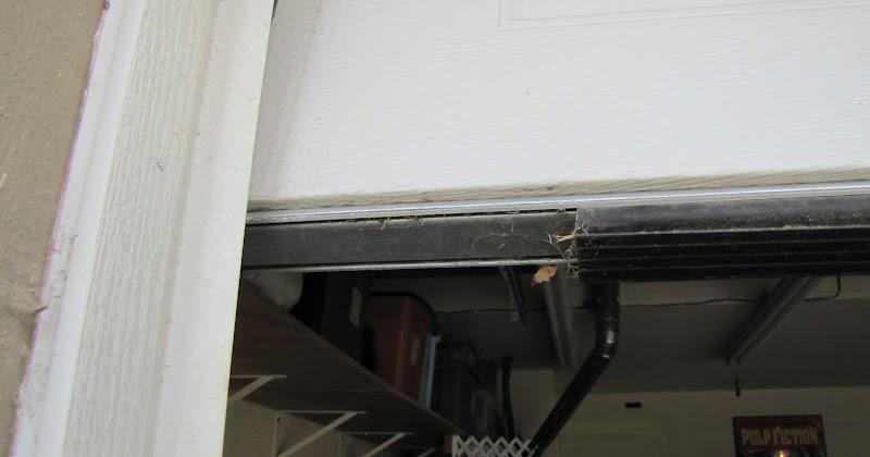 Adventures In Diy Fixing The Garage Door Weatherseal