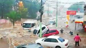 Mira los Videos mas Impactantes de la gran lluvia en Catamarca.