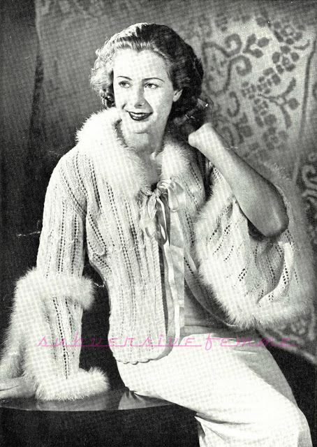 The Vintage Pattern Files 1930s Knitting Perfect In Every Detail