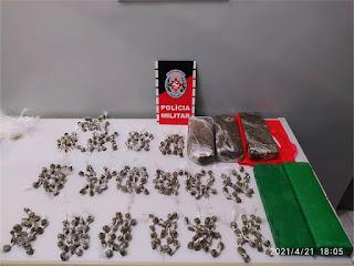 NA PB: Polícia troca tiros com traficantes e apreende mais de 5 kg de drogas
