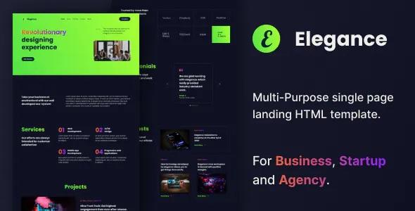 Best Multipurpose HTML Landing Page