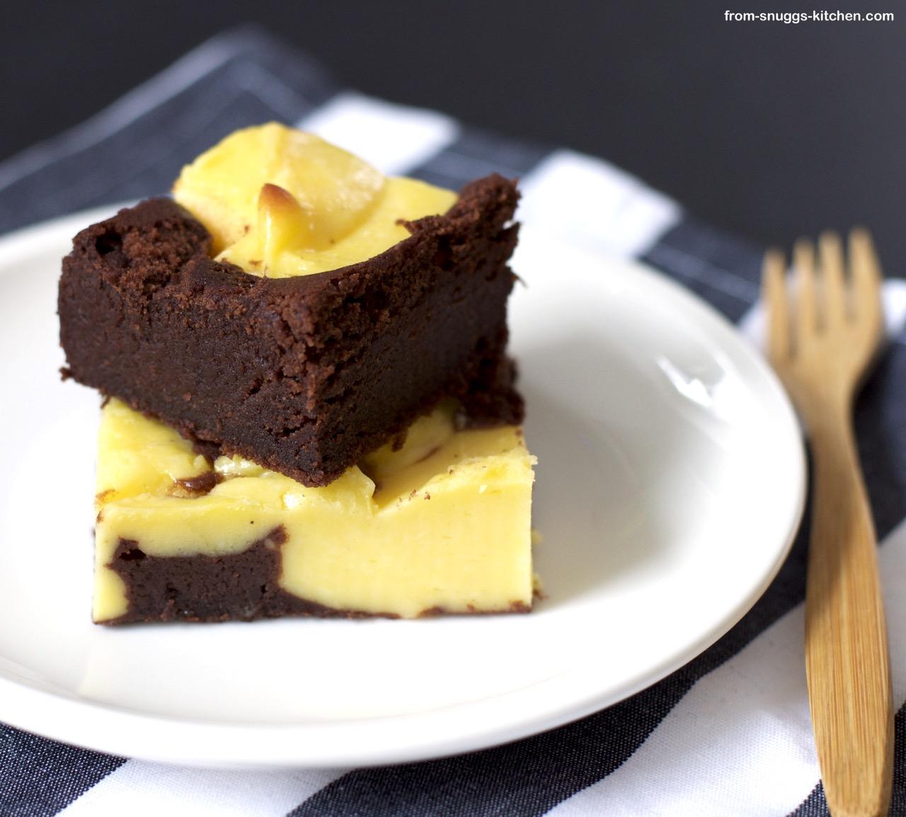 Schoko mit Cheese-Cake