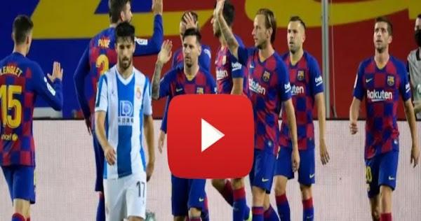 نتيجة مباراة برشلونة واوساسونا بث مباشر اون لاين 16-7-2020 الدوري الاسباني