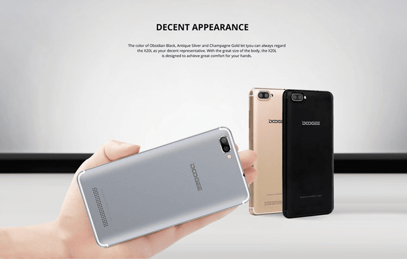 Doogee X20L with 64-bit chip, 2GB RAM, and dual cam now in PH too!