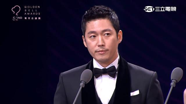대만 제52회 금종상에 참여한 장혁[유튜브 캡쳐]