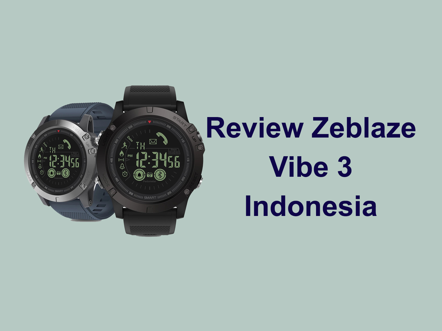 Review Zeblaze Vibe 3 Indonesia Susiloblog