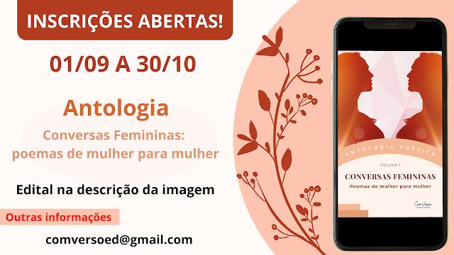 Antologia, Inscrições Abertas, Coletânea, Literatura, Poemas, poesia, Autores brasileiros, Autores Contemporâneos,
