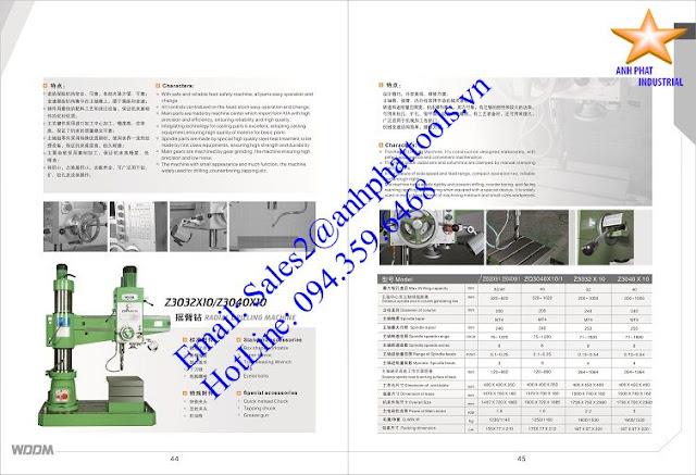 Máy Khoan Cần Cao Cấp Thương Hiệu WDDM 1.5kw - 3kw