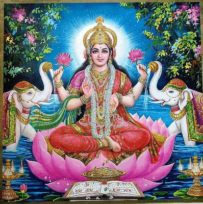 Goddess Lakshmi Worship on Navaratri