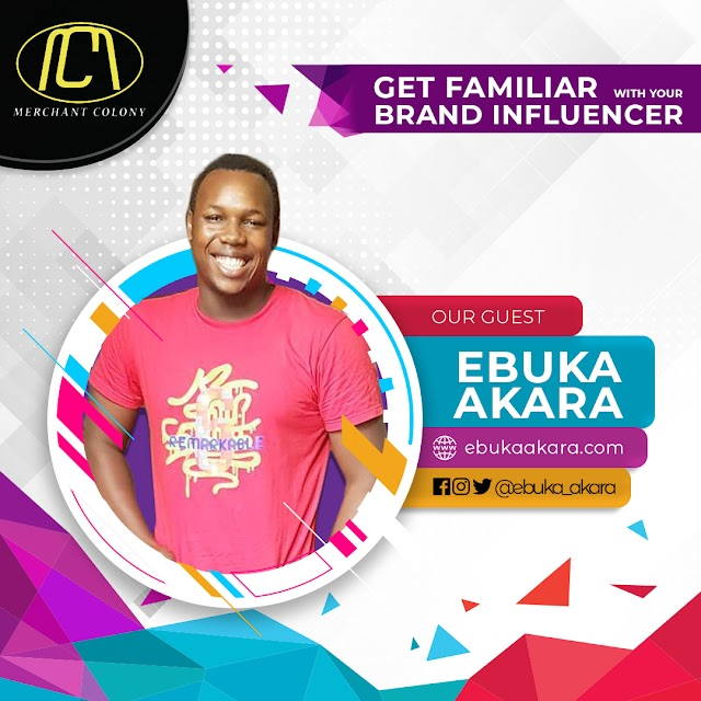 3 Ways To Master ENTREPRENEUR Without Breaking A Sweat - Ebuka Akara discusses on Get familiar with your Brand Influencer @ebuka_akara