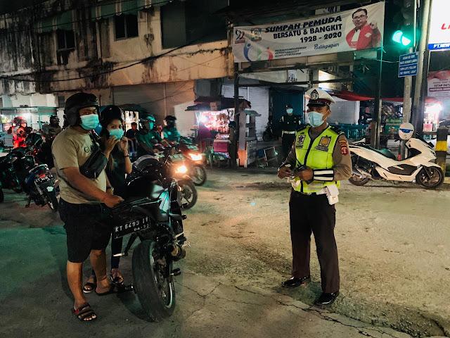 65 Pengendara Knalpot Bising Terjaring Polisi