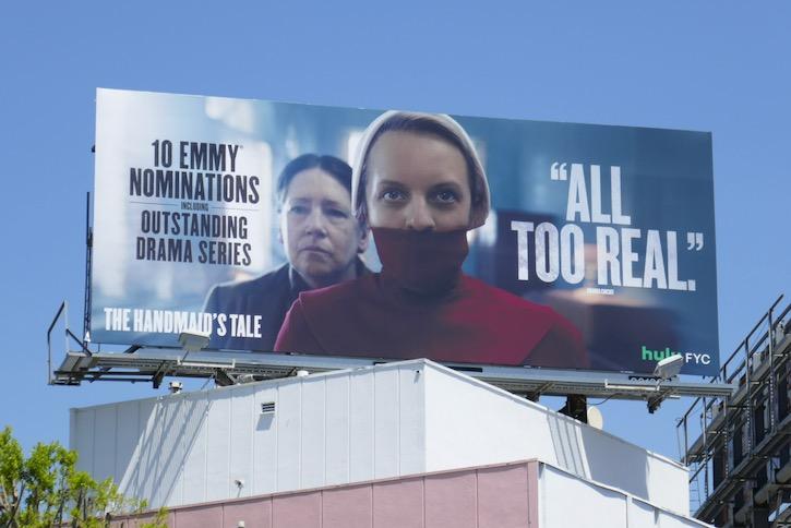 Handmaids Tale season 3 Emmy nominee billboard