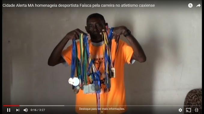 ESPORTE - Cidade Alerta MA homenageia desportista Faísca pela carreira no atletismo caxiense