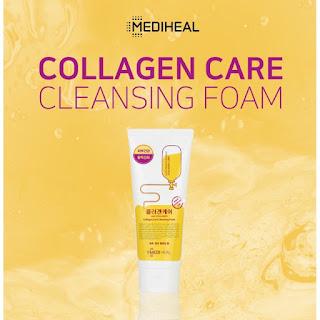 MEDIHEAL Collagen Care Cleansing Foam