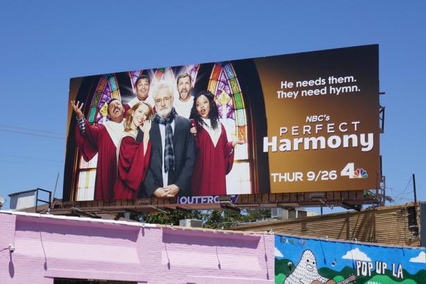 Perfect Harmony series premiere billboard