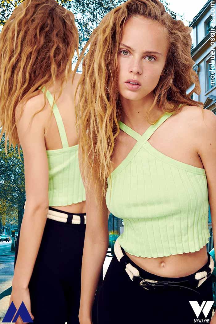 tops verano 2022 moda juvenil 2022 mujer