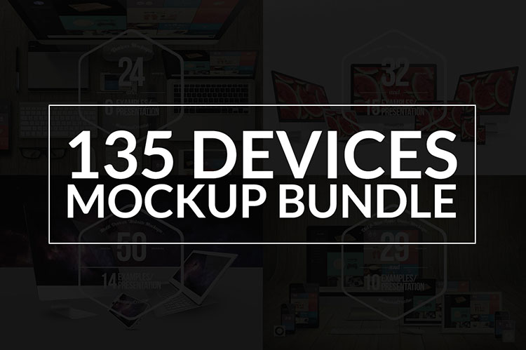 Device Mockup Bundle - 50% OFF