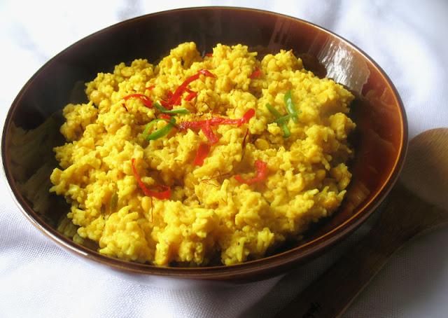 Aromatic Chana Dal Kitchari with Saffron