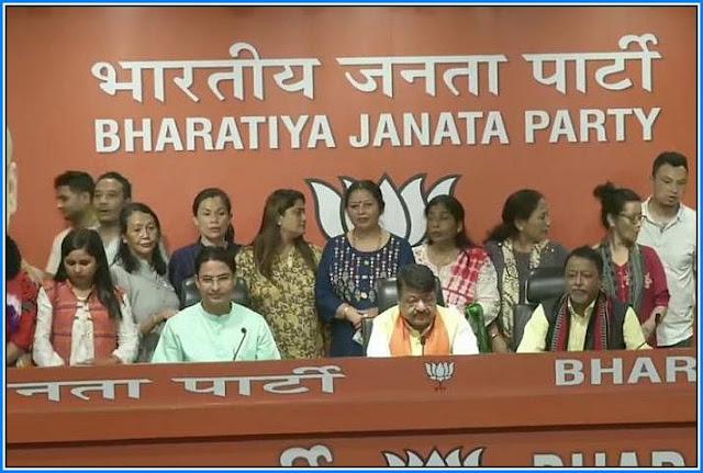 16 Darjeeling Municipality councillors join Bharatiya Janata Party (BJP)