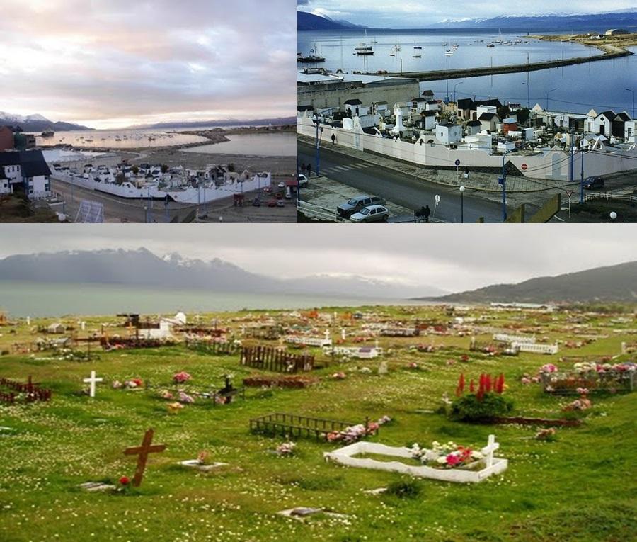 Cementerios sin visitas con fantasmas y macumba