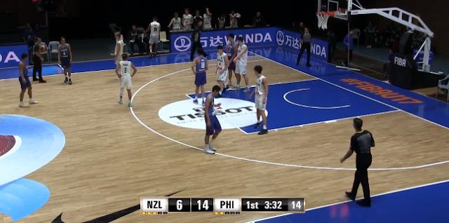 Video Playlist: Batang Gilas Pilipinas vs New Zealand 2018 FIBA U17 World Cup Argentina