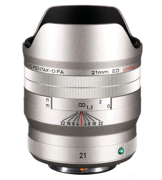 Объектив HD Pentax-D FA 21mm Limited
