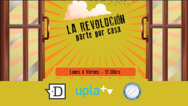 El Desconcierto, UPLATV y Colegio de Periodistas estrenó serie web cultural para pasar la cuarentena