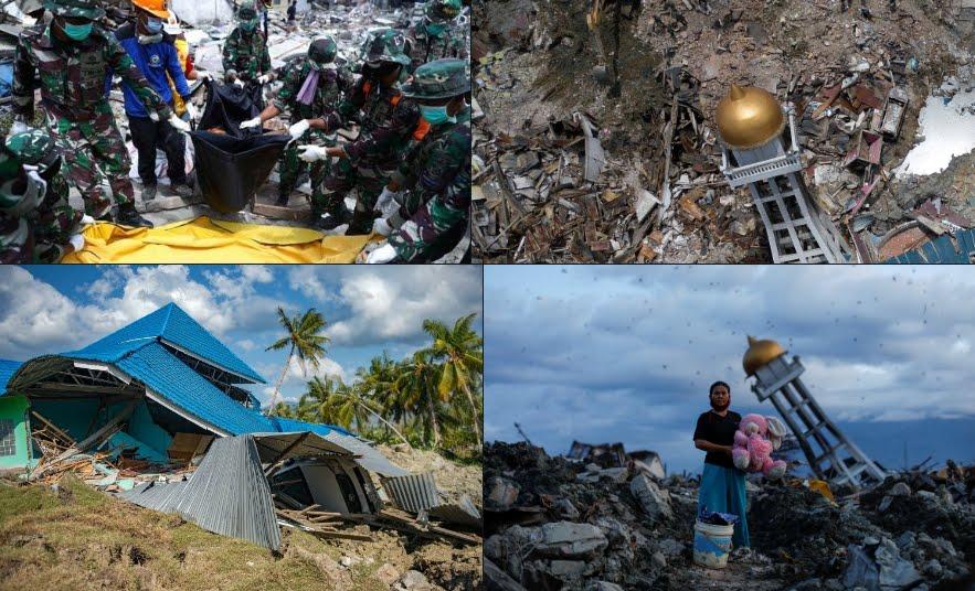 Terremoto Tsunami Indonesia provoca 2 mila vittime e 5 mila dispersi.