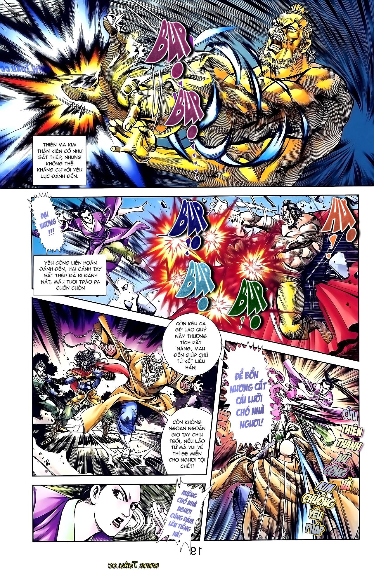 Cơ Phát Khai Chu Bản chapter 136 trang 13