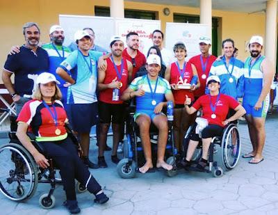 Piragüismo Discapacidad Aranjuez