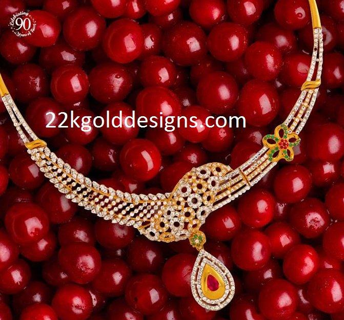 Bhima Diamond Necklace
