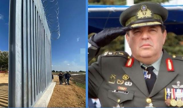 Στρατηγός Φράγκος: Ποιος φράχτης; Έθαψαν το σχέδιο που «τελειώνει» για πάντα την Τουρκία (ΒΙΝΤΕΟ)