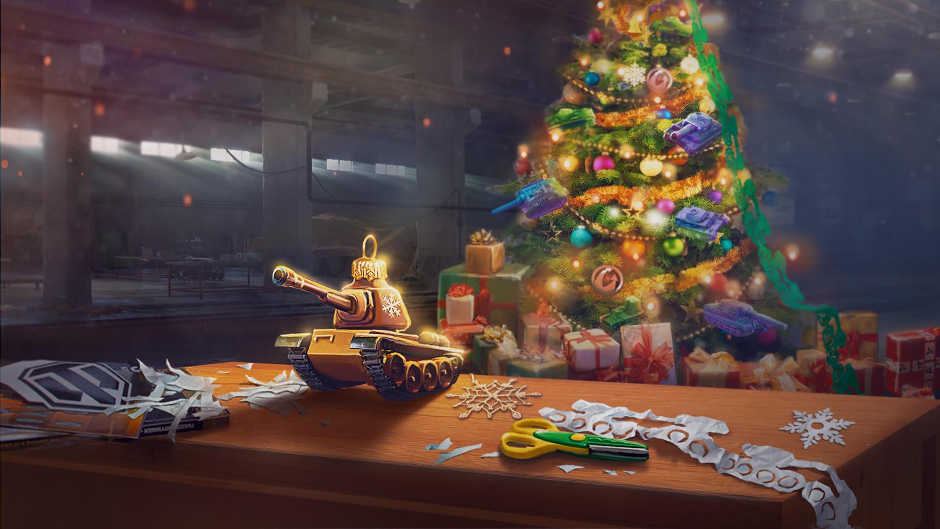 World of Tanks Universe Deploys Large-Scale New Year Celebration