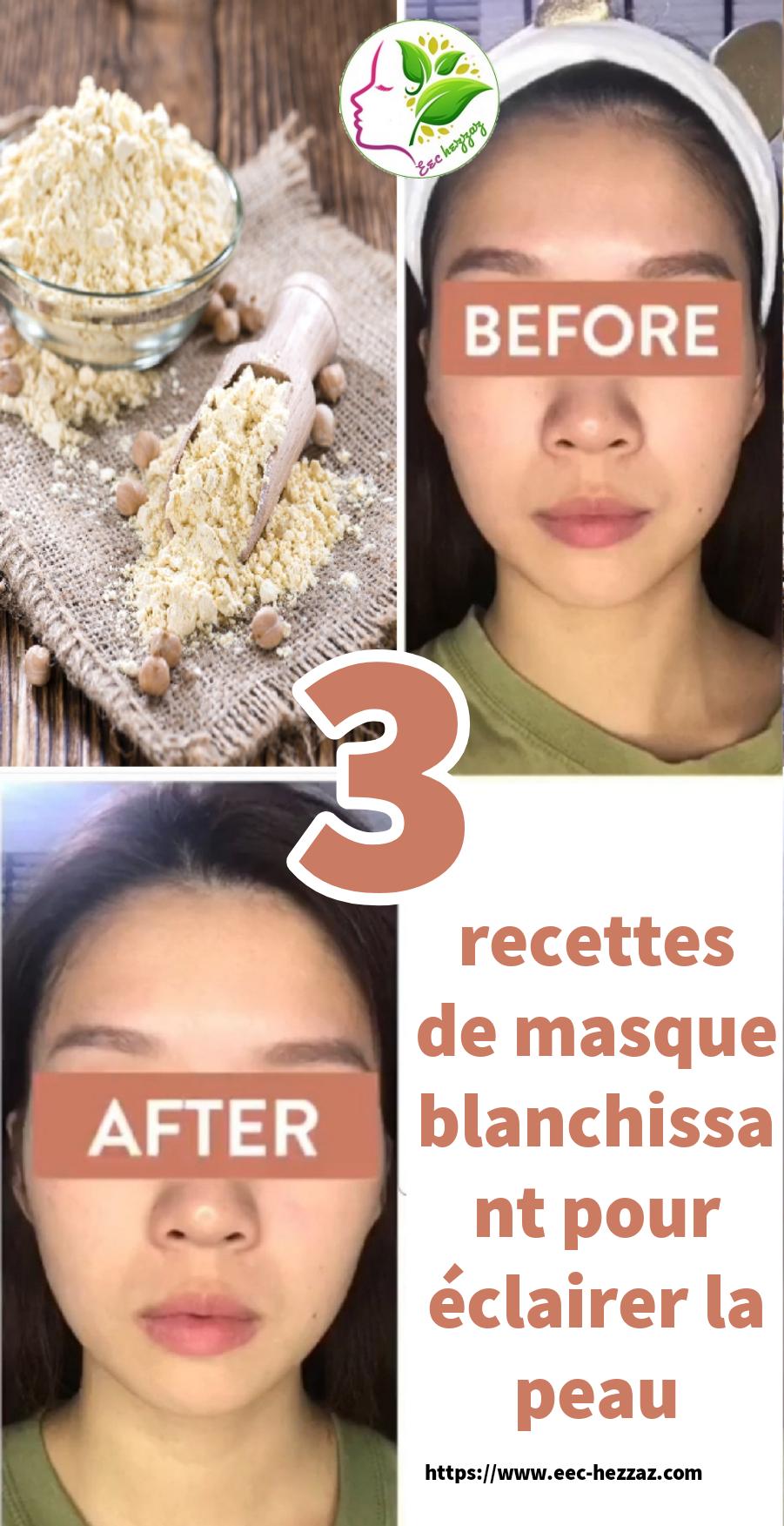 3 recettes de masque blanchissant pour éclairer la peau