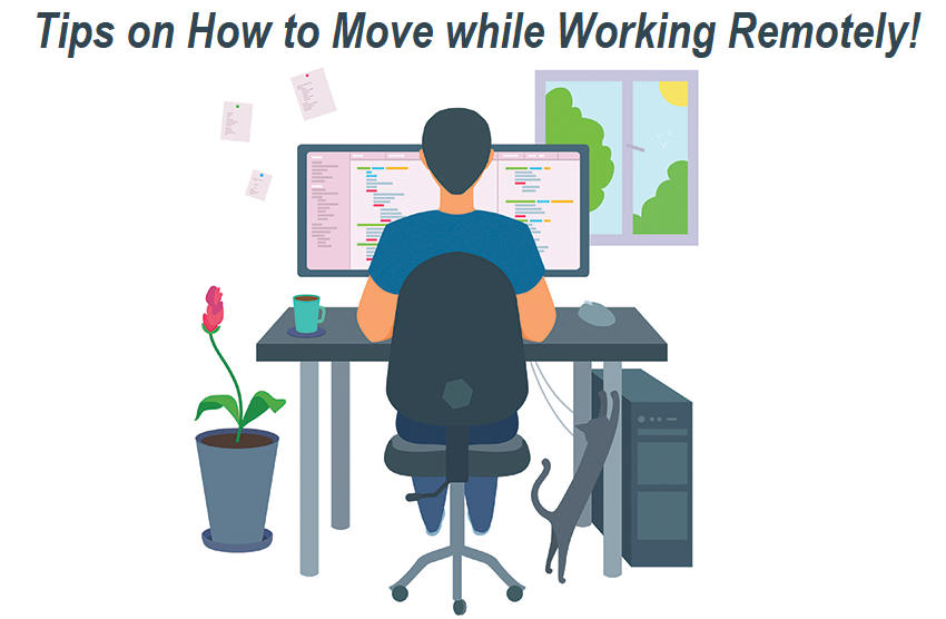 How to Move while Working