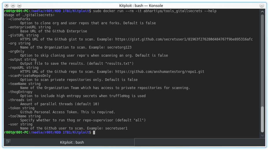 Git-All-Secrets - A Tool To Capture All The Git Secrets By