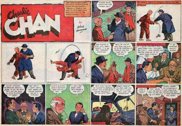 Charlie Chan comics, 12 April 1942 worldwartwo.filminspector.com
