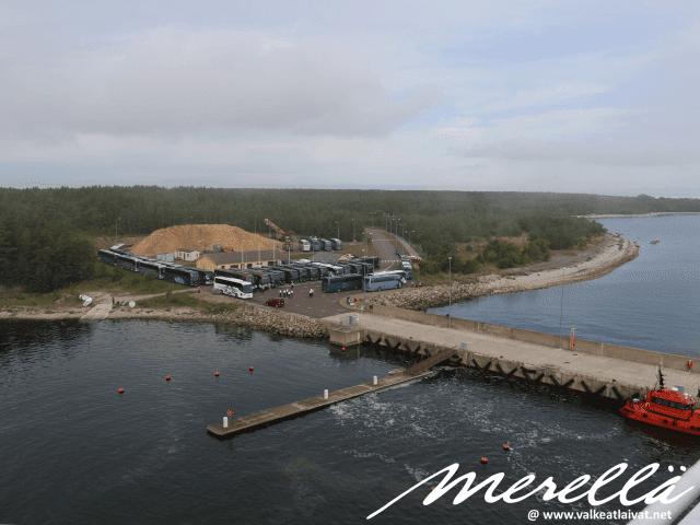 Saarenmaan satama Ninase