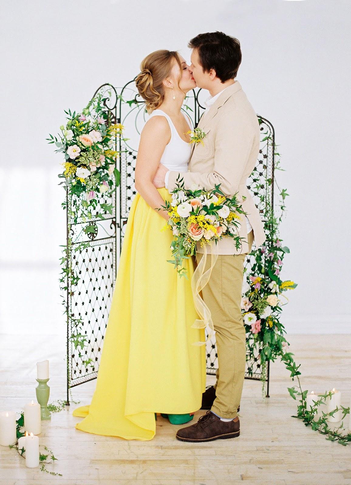 Wiosenna Stylizacja ślubna Moje Wielkie Wesele