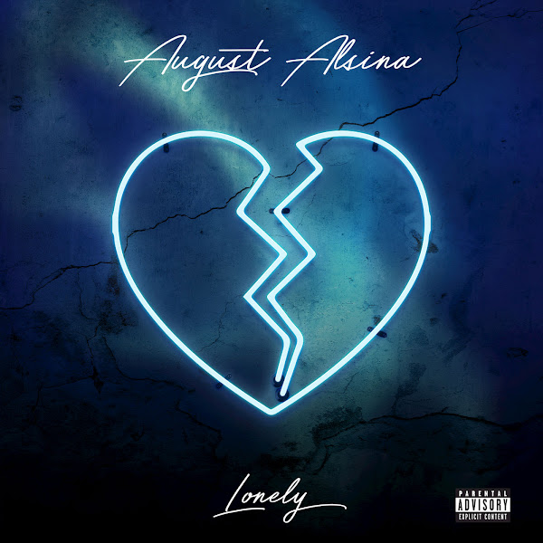 August Alsina - Lonely - Single Cover