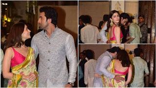 Alia Bhatt, Ranbir Kapoor's chemistry is undeniable at the Ambani Ganesh Chaturthi...