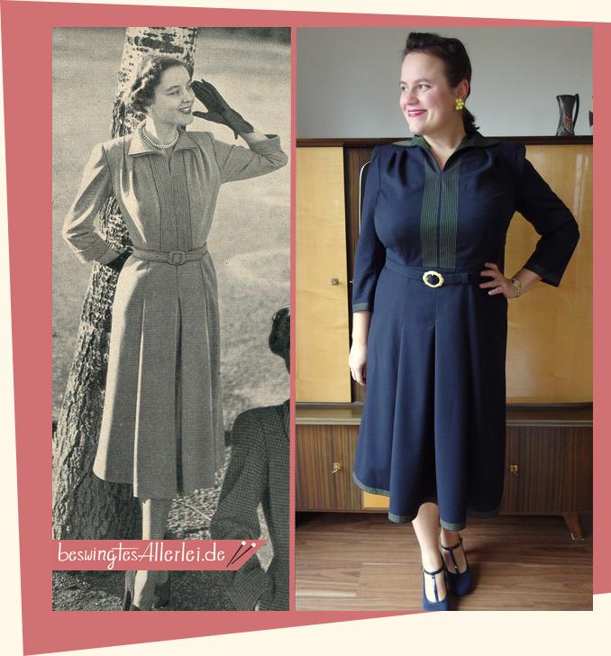 Kleid aus der Elsa 12/1950 || selbstgenäht || 50er Jahre || beswingtesallerlei.de