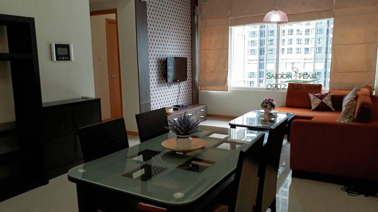 Saigon Pearl Ruby 2 cho thuê căn hộ 86m2 view công viên
