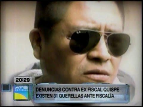 EL ÉXITO DE LOS 31 PROCESOS CONTRA EX FISCAL HUMBERTO QUISPE DEPENDE AHORA DE LA FISCAL PATRICIA SANTOS